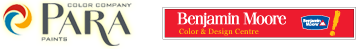 Color Company | Para Paints & Benjamin Moore Color Centre Home